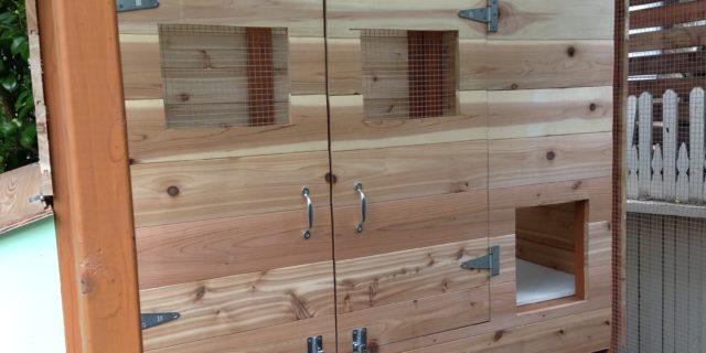 Coop Construction Part 7: Doorways